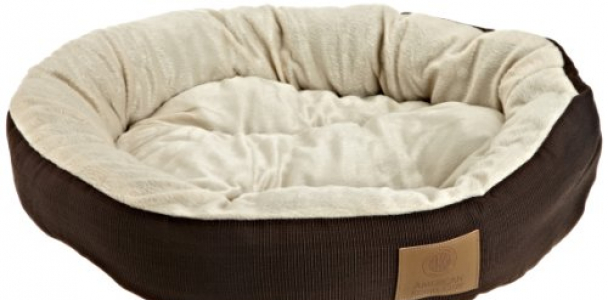 AKC Casablanca Round Solid Pet Bed