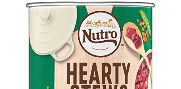 NUTRO Senior HEARTY STEWS Grandma's Farm Stew with Lamb & Rice Chunks in Gravy Canned Dog Food 12.5 Ounces (Pack of 12)