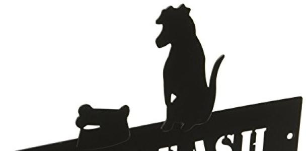 "DEI Dog Pet Leash Metal Rack – ""My Leash"" Hanger"