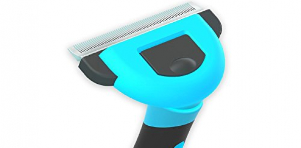 Cat Fur Dog Brush Effectively Reduces Shedding Up To 95% Professional Cat Grooming Tools and Pet Deshedding Brushes with 2.5inch&4inch Blade for Small,Medium,Big,Large Dogs and Cats