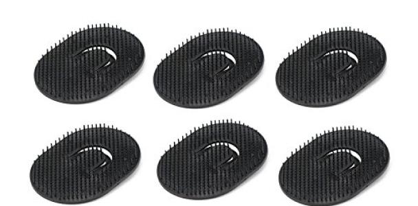 12pcs Black Portable Palm Brush Scalp Massager Hair Brush Shampoo Comb Beard Comb Mens Pocket Hair Comb for Travel Pet Grooming Brush Set Short Hair Dog Brush Cat Grooming