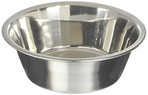 Bergan Stainless Steel Dog Bowl, 11-Cup