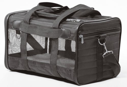Sherpa Original Deluxe Pet Carrier, Medium, Black