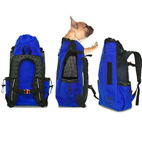 K9 Sport Sack AIR - The Original Dog Carrier Backpack (Large, Cobalt Blue)