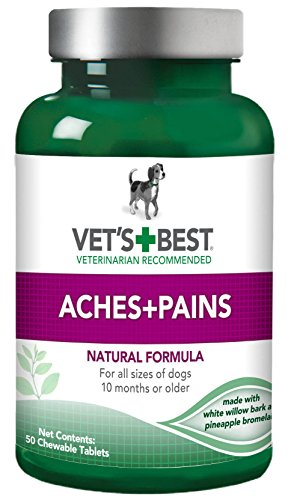 Vet's Best Aspirin Free Aches and Pains Dog Supplements, USA Made